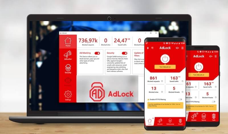 AdLock Ad Blocker Lifetime Subscription