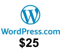 $25 WordPress.com free credits