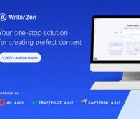 WriterZen Easy Content Creator for SEO: Lifetime Subscription