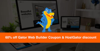 HostGator coupon web builder